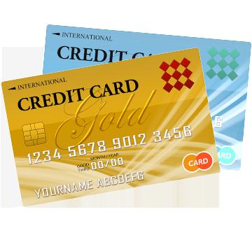クレジットカードでお会計