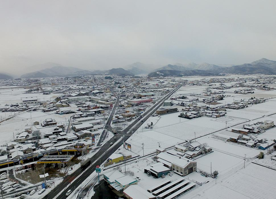 佐賀県鹿島市の風景