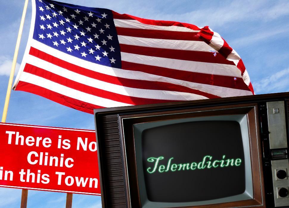 国土が広いがため、十分な医療サービスを受ける事ができない町の住人を助けるのがオンライン診療(遠隔診療)