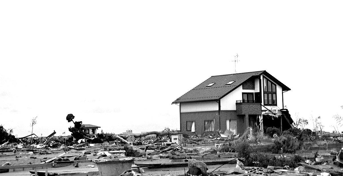 東日本大震災の爪痕